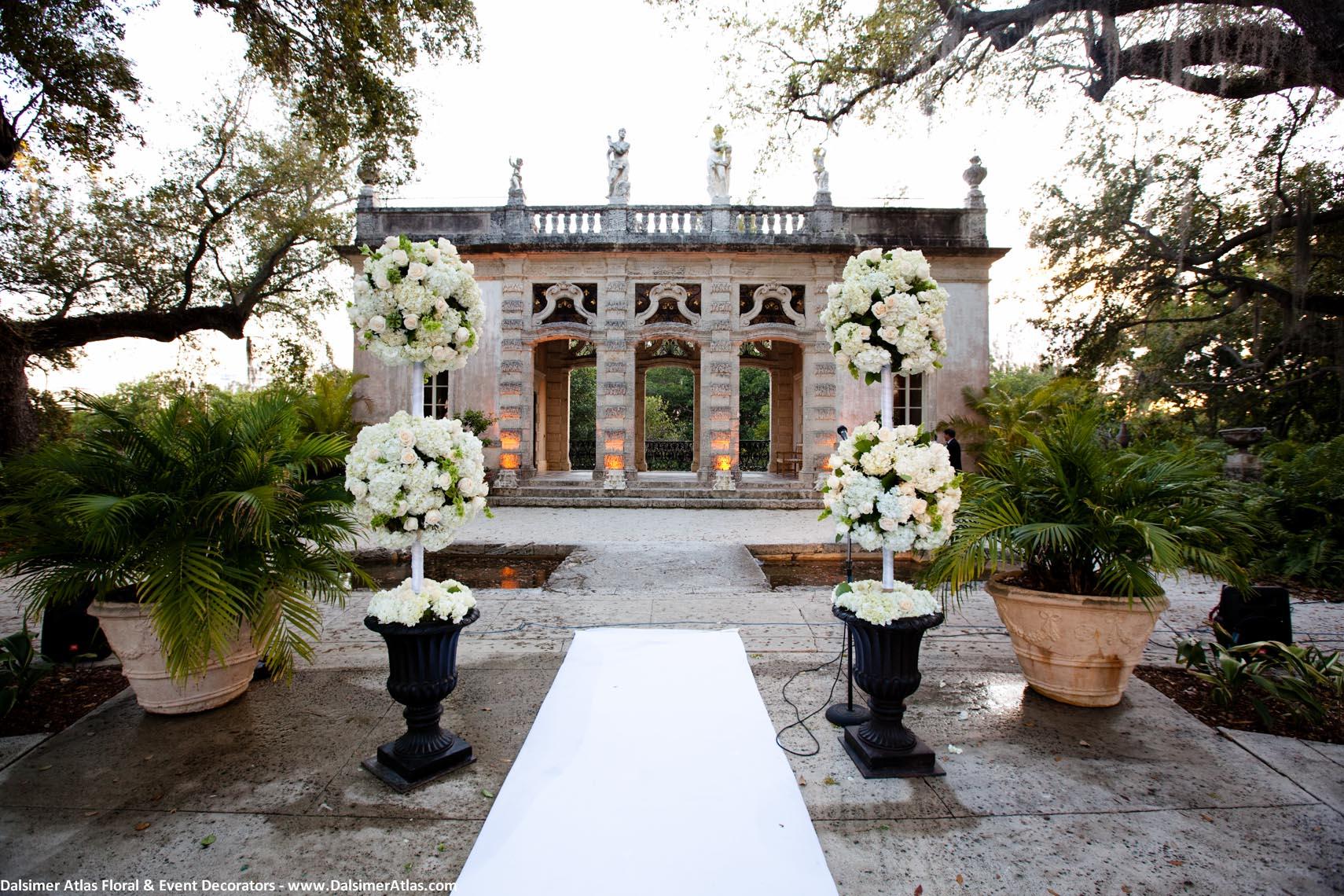 Vizcaya Museum Miami Wedding Venue Haute Couture Events