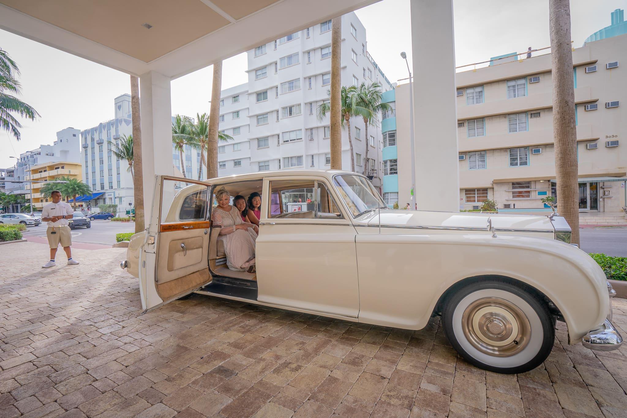 Wedding Transportation - Miami wedding planner
