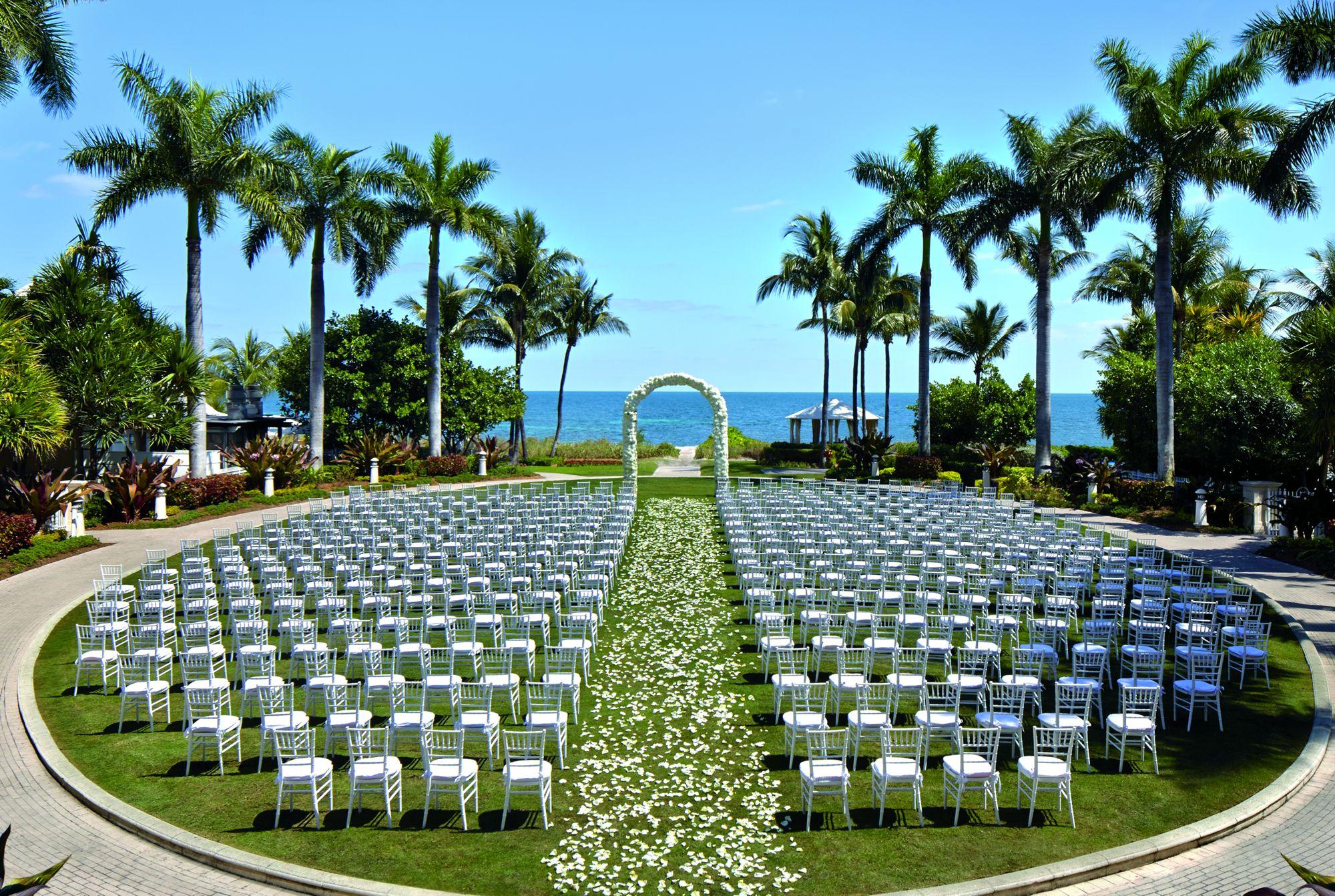 Miami Beach Garden Wedding